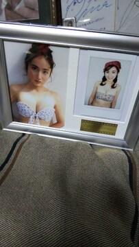 紗綾の生写真+チェキ額縁セット