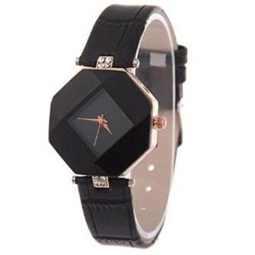 ★おしゃれ★ 腕時計 可愛い 腕時計 黒 他カラー有