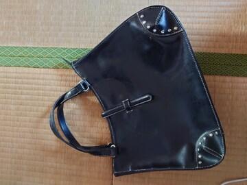 美品★ブラックバッグ。タグつき。