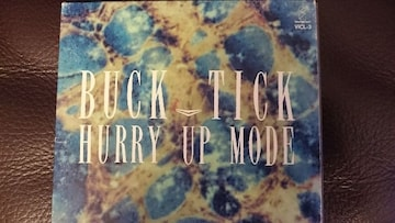 BUCK-TICK「HURRY UP MODE」初回
