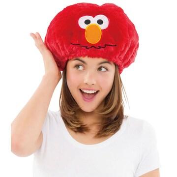 ハロウィン コスプレ 衣装 大人 子供 小物 セサミストリート エルモ風帽子
