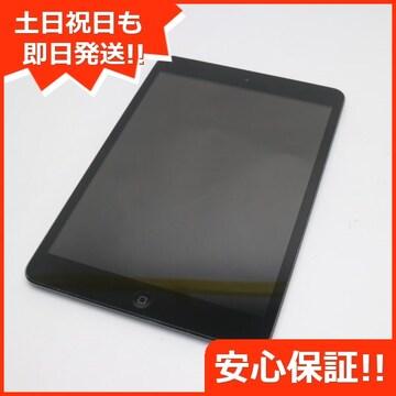 ●判定○●美品●iPad mini Wi-Fi+cellular64GB ブラック●