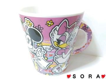 【ミニー&デイジー】可愛いオリジナルボックス付♪陶器製マグカップ