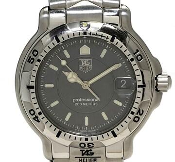 正規タグホイヤー時計6000シリーズWH1112グレー文字盤QZメ