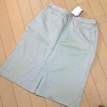 新品◆ユニクロ◆ストレッチ◆タイトスカート◆W63ベージュ