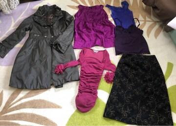 婦人服 まとめ売り コート スカート ブランド キャミ トップス