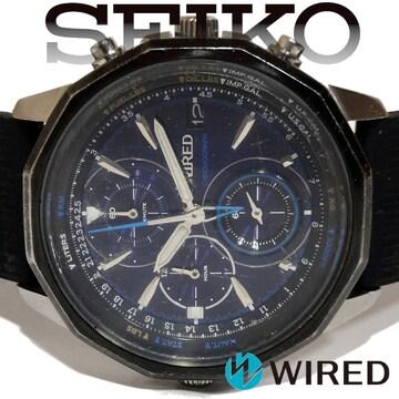 極レア 1スタ★SEIKO セイコー【クロノグラフ】メンズ腕時計