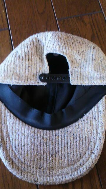 【美品即決】秋冬◆ニット素材◆スタイリッシュキャップ < 女性ファッションの