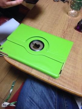 iPadair2ケースです色は緑で未使用です