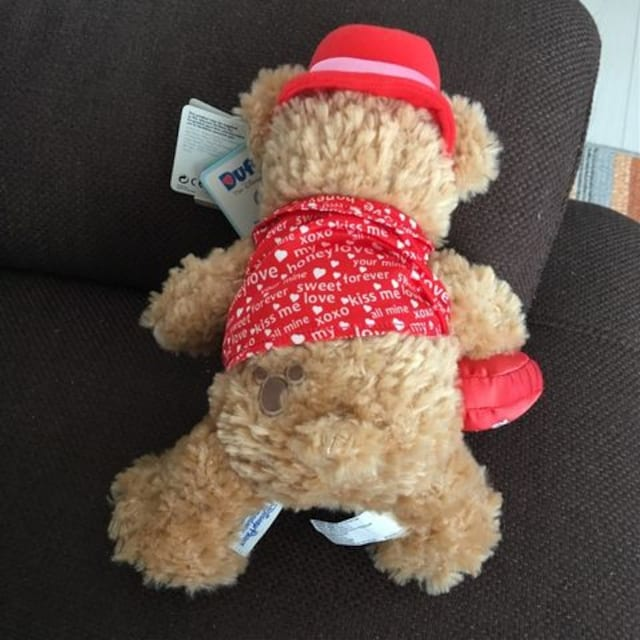 ディズニーパークス購入Duffyぬいぐるみダッフィー23cmタグ付き < おもちゃの