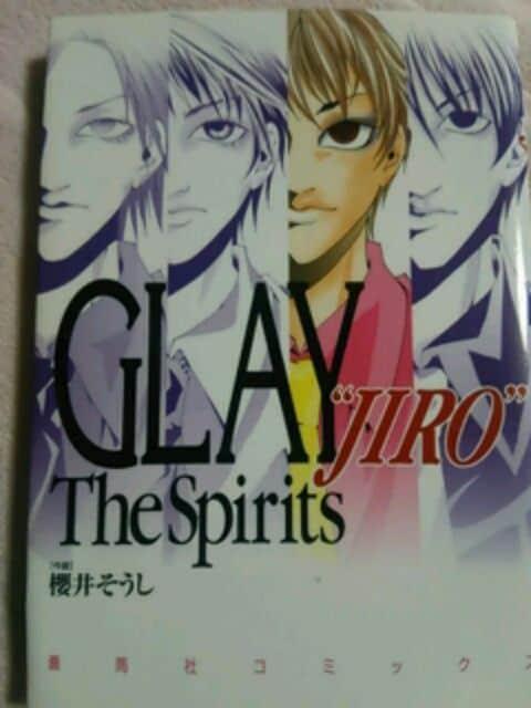 絶版【GLAY.JIRO】the spirits  < タレントグッズの
