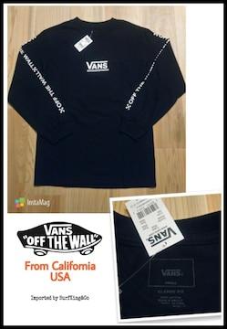 [VANS]OFF THE WALL最新ロンT★本物USA直輸入モデル!特価SALE!