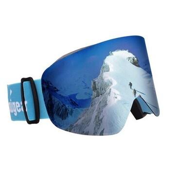 スキーゴーグル スノーボートゴーグル 100%UVカット