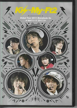 Kis-My-Ft2 Debut Tour 2011Everybody Go at 横浜アリーナ2011.7