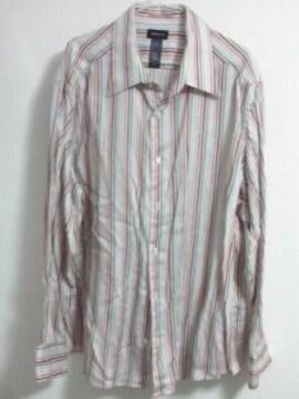 CLAIBORNE ストライプシャツ 2XL