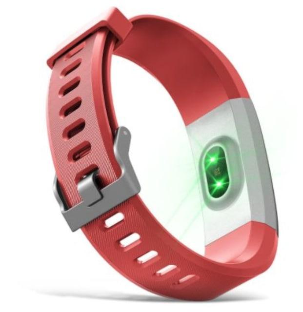 多機能スマートウォッチ スマホ対応 紅色 < 男性アクセサリー/時計の