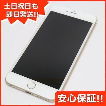 ●●美品●SOFTBANK iPhone6 PLUS 64GB ゴールド●