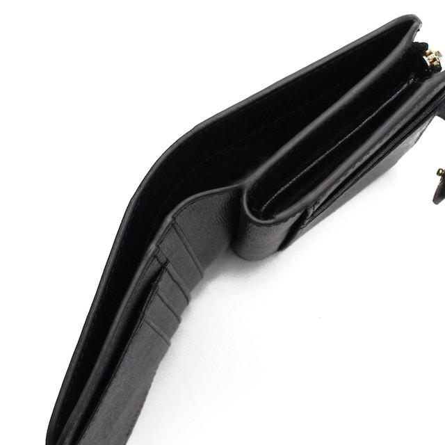 フルラ 2つ折り財布 PBF8 1000421 B30 O60 ONYX ブラック < ブランドの