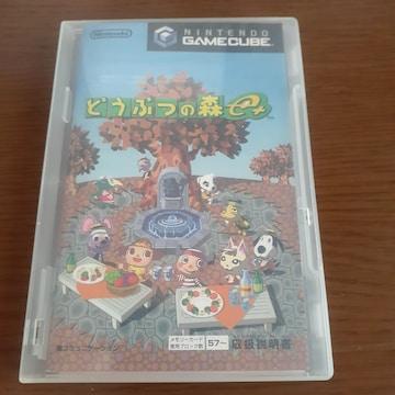 どうぶつの森 e +/ ゲームキューブソフト