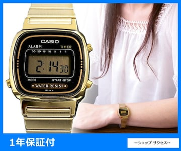 新品 即買い■カシオ レディース 腕時計 LA670WGA-1UWD