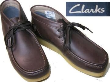 クラークスCLARKS新品ワラビーブーツSTINSON HI26129530濃茶us9