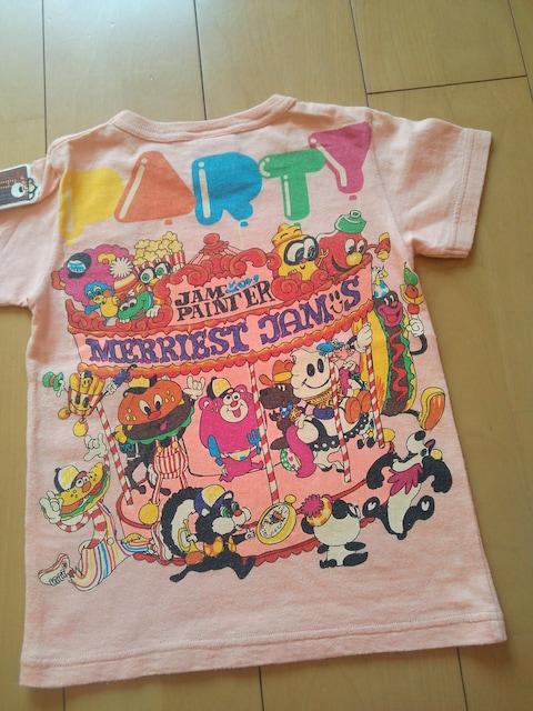 中古メリーゴーランドTシャツ120ピンクJAM  < ブランドの