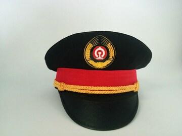 0208 鉄道員帽子