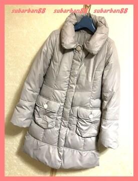 ☆インタープラネット☆美品♪美形ロングダウンコート38☆