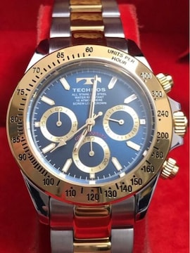 TECHNOSテクノス ブランド日本製クォーツ ブランドメンズ腕時計