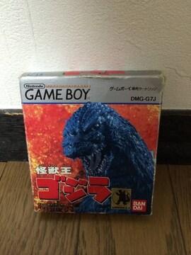 ゲームボーイ 怪獣王ゴジラ レア ゲーム