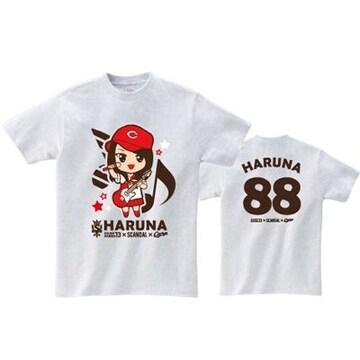 即決 HARUNA Tシャツ[S] SOUND MARINA 2013× SCANDAL ×CARP