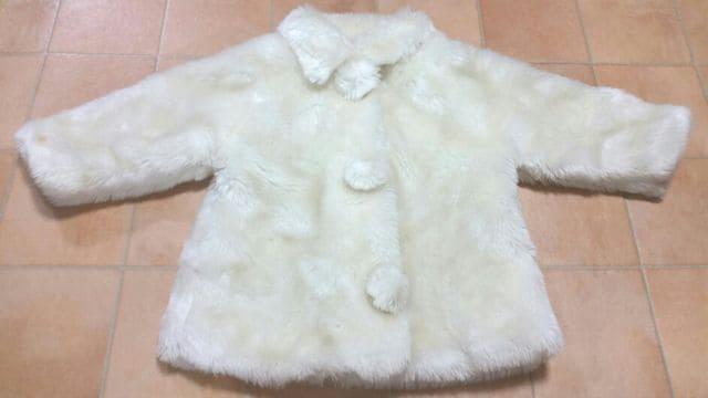 【中古】ホワイトコート★95�p  < キッズ/ベビーの