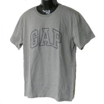 新品◆送料無料◆GAP グレーロゴTシャツ(L)