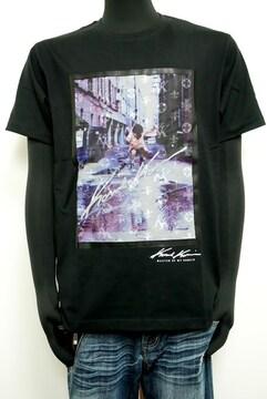 新品カールカナイ202K1014フォト昇華Tシャツ 半袖 黒 L