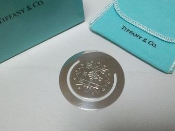 正規美 限定 廃盤 ティファニー 聖火 オーバルマネークリップ SV925 財布