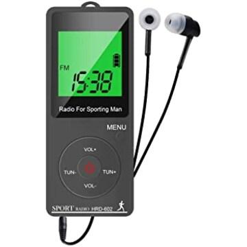 携帯ラジオ ラジオ 小型 ポケットラジオ 高感度 ミニラジオ FM
