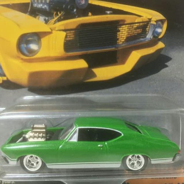JL/'68 Chevyシボレー Chevelleシェベル1/64 < ホビーの