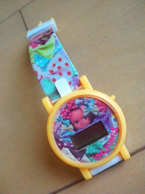 新品VanaVanaキャラクターウォッチ☆ヴァナヴァナ腕時計ガシャポン☆ガチャガチャ  < ブランドの