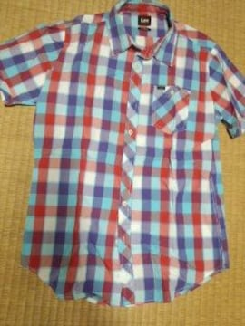 Lee チェックシャツ