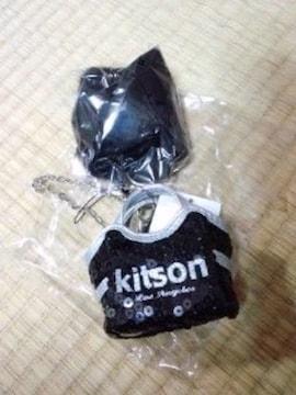 新品キットソンkitson非売品ノベルティ チャームストラップ