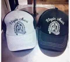 d.i.a*マリア様柄、帽子*新品タグ付き*ブラック