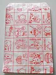 R85サイズ平袋★マイホーム100枚☆キュート紙袋