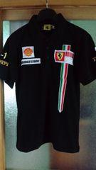 F1フェラーリ ピットクルー風ポロシャツ