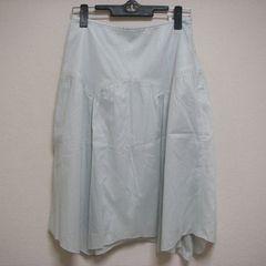薄手 W61 ひざ下 スカート サラサラ