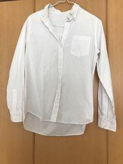 ジーナシス 白シャツ