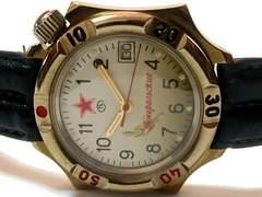 極レア【1点もの】ロシア製【自動巻き】無骨なメンズ腕時計
