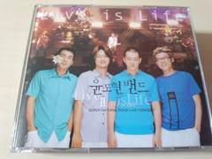 ユン・ドヒョン・バンドCD「Live ll - Live Is Life」韓国バンド