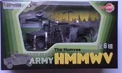 1/72 DRAGON ARMY HMMWV 第82空挺師団 パープルスター演習参加車両