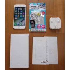 美品!iPhone 6 16GB au★MG482J/A A1586 シルバー