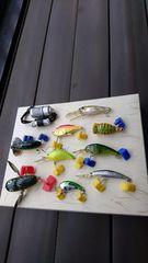 ヘドン クレイジークローラーなど 各種9点 ルアー 釣り セット